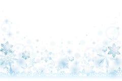雪冬天背景 库存例证