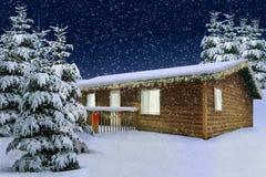 雪冬天 免版税图库摄影