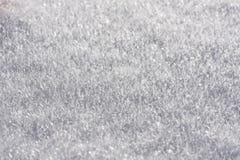 雪冰晶 免版税图库摄影