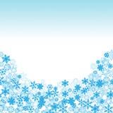 雪剥落框架传染媒介 库存图片