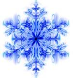 雪剥落 免版税库存照片