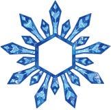 雪剥落 皇族释放例证