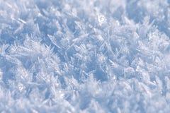 雪和冰纹理 免版税库存图片