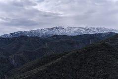 雪在Istan 库存图片