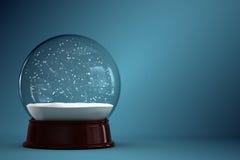雪地球 免版税库存图片