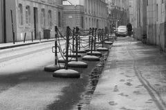 雪城市 免版税库存照片