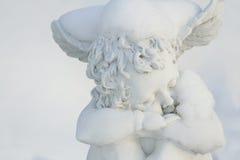 雪天使 免版税库存照片