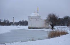 雪天在11月 库存图片
