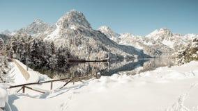 雪季节和冬季体育 库存照片