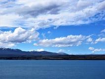 雪山在新西兰 库存图片