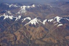 雪山峰 图库摄影