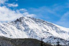 雪山 图库摄影