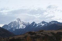 雪山 库存照片