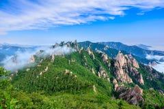 雪岳山国家公园 免版税库存照片