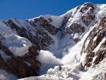 雪崩 图库摄影