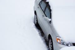 雪时间 库存图片