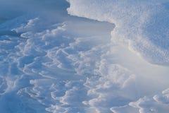 雪样式 免版税库存图片