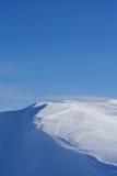 雪沙丘 库存照片