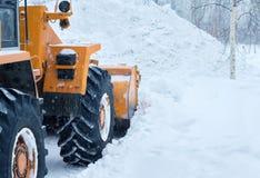 雪清洁 库存图片