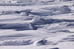 雪漂泊 免版税库存照片