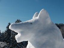 雪狼 库存照片