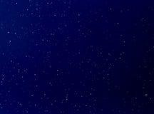 雪白的蓝天 免版税库存照片