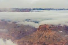 雪的大峡谷国家公园 图库摄影