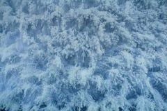 雪的纹理 免版税库存图片
