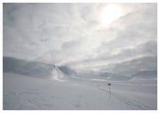 滑雪的2 免版税库存照片