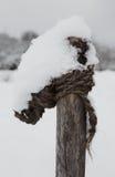 雪盖全部 免版税库存照片