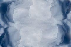 雪纹理。 库存照片