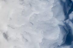 雪纹理。 免版税图库摄影