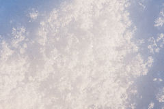 雪纹理冬天 库存图片