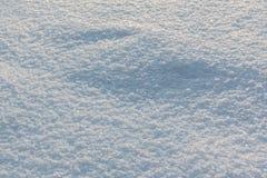 雪纹理特写镜头 库存图片