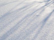 雪纹理白色蓝色背景 图库摄影