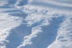 雪纹理背景 免版税库存图片