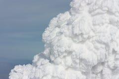 雪纹理 库存图片