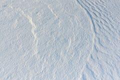 雪背景自然河表面上 图库摄影