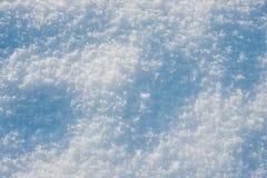 雪背景晴朗的冬天 库存照片