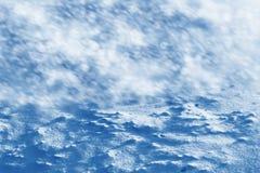 雪背景 33c 1月横向俄国温度ural冬天 免版税库存照片