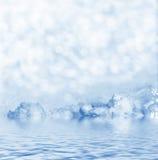 雪背景 33c 1月横向俄国温度ural冬天 库存照片