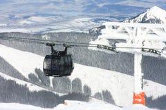 滑雪胜地Jasna,斯洛伐克 库存照片