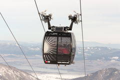 滑雪胜地Jasna,斯洛伐克 免版税库存照片
