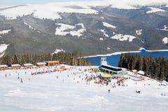 滑雪胜地Vidra 库存照片