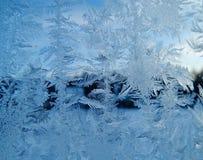雪花仿造作为冬天纹理背景 免版税图库摄影