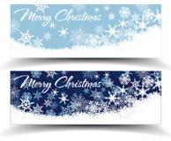 雪花圣诞节网横幅
