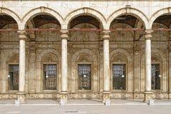 雪花石膏清真寺开罗 库存图片