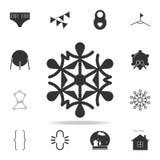雪花象 详细的套网象 优质质量图形设计 其中一个网站的汇集象,网络设计, m 免版税库存照片