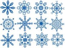 雪花 向量例证
