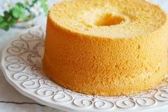 雪芳蛋糕 免版税图库摄影